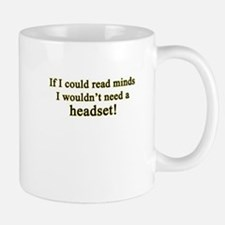 Read Minds - Headset Mugs