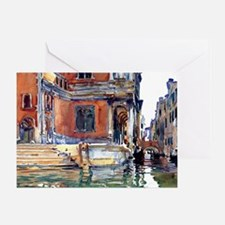 Sargent - Scuola di San Rocco Greeting Card