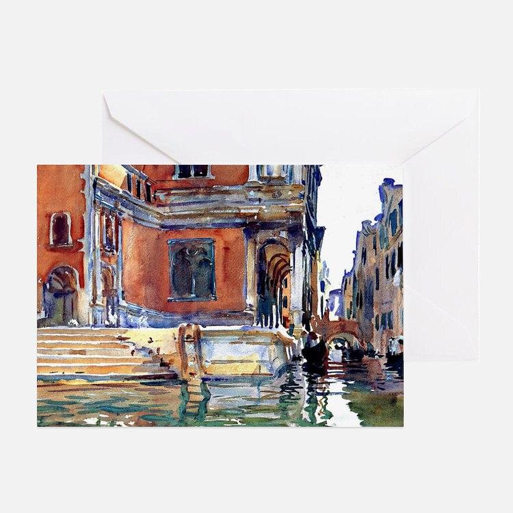 Sargent - Scuola di San Rocco Greeting Card