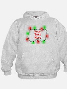 Custom Christmas Lights Hoodie