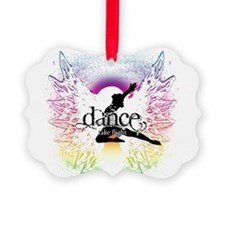 Dance Take Flight the Colors Ornament