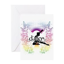 Dance Take Flight the Colors Greeting Cards