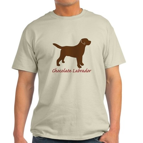 Chocolate Labrador Light T-Shirt