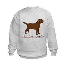 Chocolate Labrador Sweatshirt