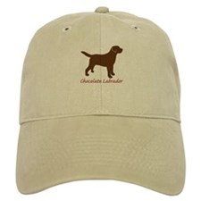 Chocolate Labrador Baseball Cap