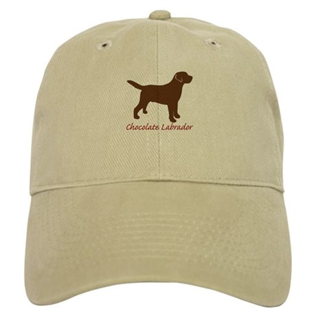 Chocolate Labrador Cap