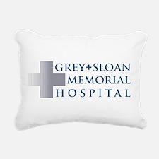 Grey Sloan Rectangular Canvas Pillow