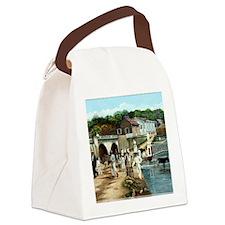 Coleccion El Parterre Antiguo.Agu Canvas Lunch Bag