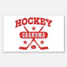Hockey Grandma Decal