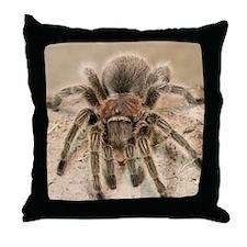 Rosehair Tarantula Throw Pillow
