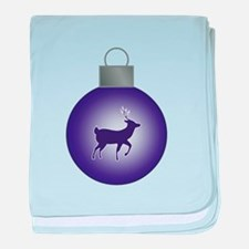 ORNAMENT - STAG baby blanket