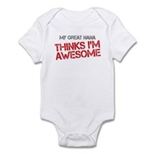 Great Nana Awesome Infant Bodysuit