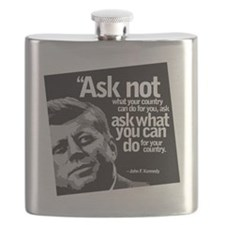 Ask Not What Your Country Can Do For You Flask