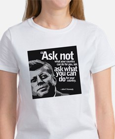 Ask Not What Your Country Can Do F Women's T-Shirt