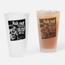 Ask Not What Your Country Can Do Fo Drinking Glass