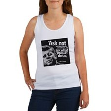 Ask Not What Your Country Can Do  Women's Tank Top