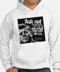 Ask Not What Your Country Can Do Hoodie