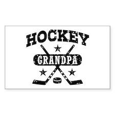 Hockey Grandpa Decal