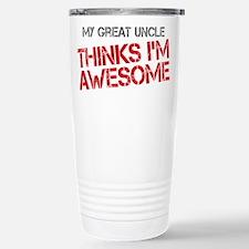 Great Uncle Awesome Travel Mug