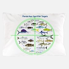 Florida Keys Fish Targets Pillow Case