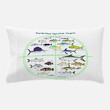 Florida Keys Fish Targets Pillow Case