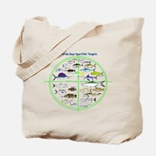 Florida Keys Fish Targets Tote Bag