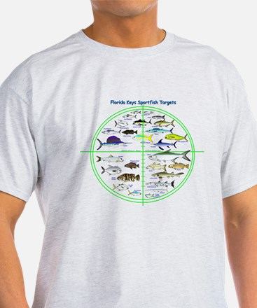Florida Keys Fish Targets T-Shirt