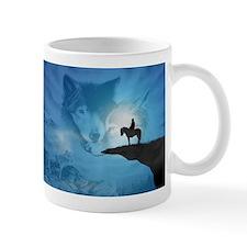 Spirit Of The Wolf Mugs