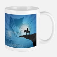 Spirit Of The Wolf Mugs