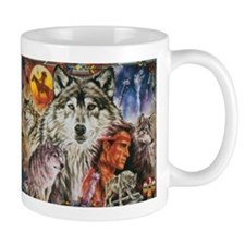 Funny Native american spirit Mug