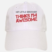 Little Brother Awesome Baseball Baseball Cap