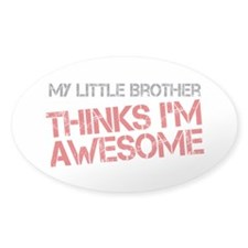 Little Brother Awesome Decal