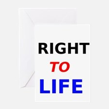 Right to Life Greeting Cards