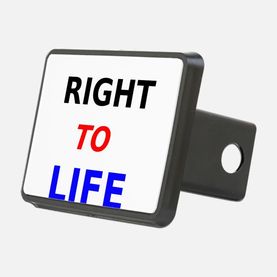 Right to Life Hitch Cover