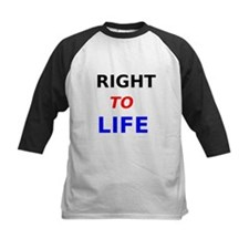 Right to Life Baseball Jersey