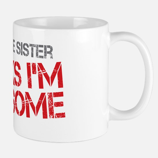 Little Sister Awesome Mug