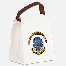 USS Dwight D Eisenhower CVN-69 Canvas Lunch Bag