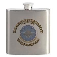 USS Dwight D Eisenhower CVN-69 Flask