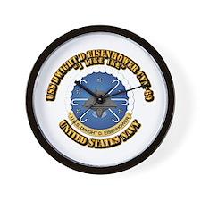 USS Dwight D Eisenhower CVN-69 Wall Clock