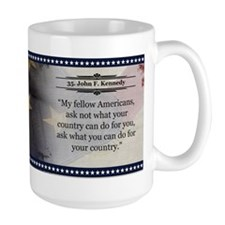 John F. Kennedy Historical Mugs