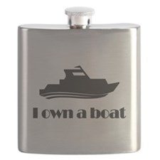 I Own a Boat Flask