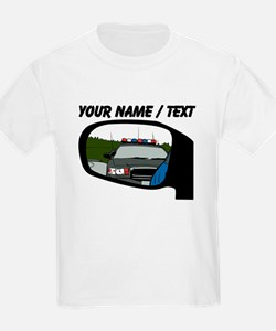 Cop In Rear View Mirror T-Shirt