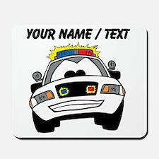 Cartoon Police Car Mousepad