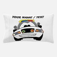 Cartoon Police Car Pillow Case
