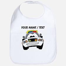 Cartoon Police Car Bib