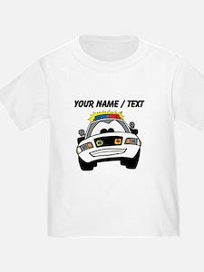 Cartoon Police Car T-Shirt