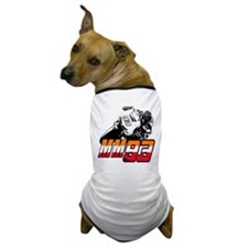 mm93bike3 Dog T-Shirt