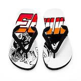 Motogp Flip Flops