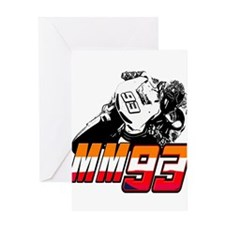 mm93bike3 Greeting Cards