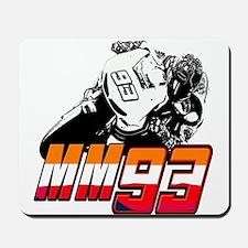 mm93bike3 Mousepad